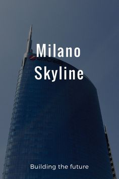 Milano Skyline Building the future: by Giangi Ceresara on Skyline, Gao, Stunning Photography, Milano, Grande, Travel Destinations, How To Plan, Tower, Sky