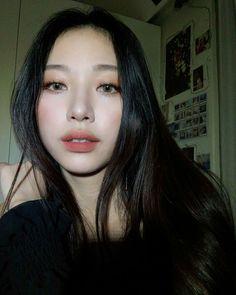 Ryuwon JYP Actress Cute Eye Makeup, Monolid Makeup, Makeup Looks, Hair Makeup, Asian Makeup, Korean Makeup, Makeup Inspo, Makeup Inspiration, Beauty Skin