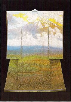 itchiku #8 by Arno Drucker | Mount Fuji kimono by Itchiku Kubota | Flickr - Photo Sharing!