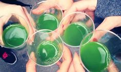 Is being sober finally trendy? Juice crawls are just one of many booze-free events in the US catering to millennials who are ditching the hooch in favor of clarity