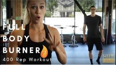 400 Rep Workout Full Body Burner