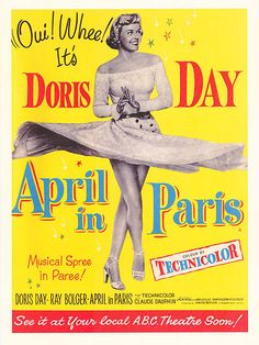 "Her rendition of""April in Paris"" was hauntingly beautiful and the highlight of thefilm. Description from moviesdvdnewreleases.com. I searched for this on bing.com/images"