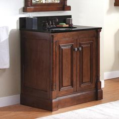 "Bathroom Vanity 30 X 21 plantation series - 30""(w) x 21""(d) vanity - with drawers on right"