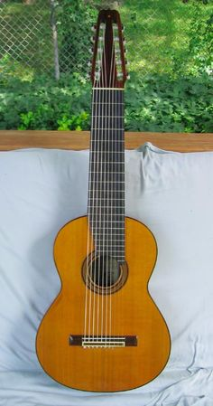 10 string Cathedral classical guitar - have always wanted to play one of these!