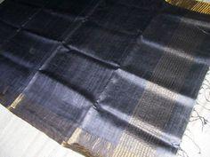 Tussar & Ghicha Silk Sari  Traditional # Indian # hand woven # sari  www.kasavcollections.com