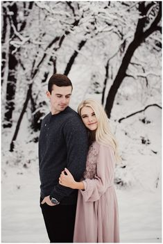 American Fork Canyon Engagements, Utah Winter engagements, Utah wedding photographer, Eden Strader Photo, Foggy engagement session, engagement pose ideas, engagement outfit ideas, snowy engagements, Tibble Fork engagements