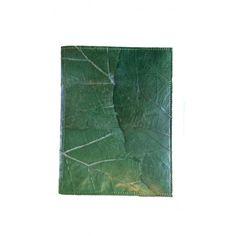 Notitieboek A5 gemaakt van bladeren