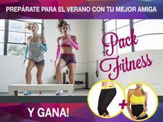 Gana un Pack fitness para ti y tú mejor amiga