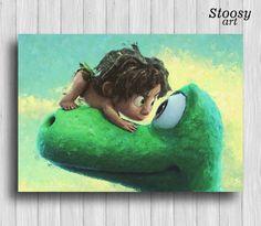Thegooddinosaur Print Kids Decor Disney Gifts Nursery Dinosaur Bedroom Room