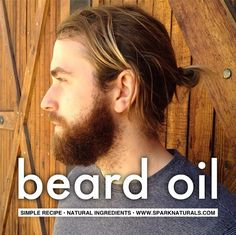 DIY Beard Oil with essential oils - fast, easy, and smells amazing! | Spark Naturals