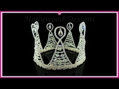 f21c666e0ad3 Handmade Bridal Wedding Swarovski Crystal Element - Queen Tiara    Hollywood-Designs.co.uk