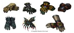 Gloves Design #2 by Concept-Art-House on deviantART
