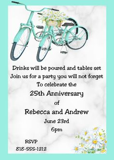 Anniversary Party invitations NEW selections Summer 2020 Anniversary Party Invitations, Anniversary Parties, 25th Anniversary, Country, Summer, Birthday Celebrations, Rural Area, 25 Anniversary, Birthday Invitations