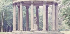 photo by Luigi Ghirri - Versailles 2, 1985, signed, titled, 22,6 x 47,2 cm