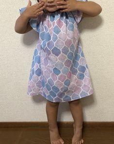 147d2fa8b9063 手ぬぐいチュニック♡ ハンドメイド 2歳児女の子 チュニックワンピース