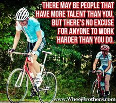Talent doesn't equal success. #cycling #fitness #inspiration #motivation