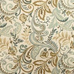 Love this for familyroom drapes!                                                                  *******Swavelle / Mill Creek Findlay Seaglass Fabric