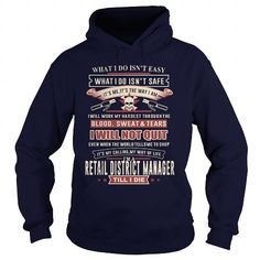 RETAIL DISTRICT MANAGER I WILL NOT QUIT T Shirts, Hoodies. Get it now ==► https://www.sunfrog.com/LifeStyle/RETAIL-DISTRICT-MANAGER-SKULL-2-Navy-Blue-Hoodie.html?57074 $35.99