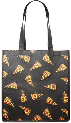 FOREVER 21 Pizza Graphic Tote