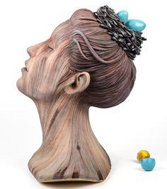 Parecem de madeira, mas são as cerâmicas surreais de Christopher David White | IdeaFixa