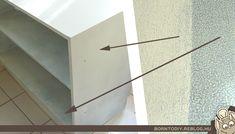 laminált bútor festés bútor felújítás fóliázott fóliás festés átalakítás átfestés harzo t 16 vízbázisú zománcfesték lakkozó henger krémfehér virágtartó sarokszekrény borntodiy