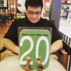 """Good food takes time"". Love the quote. | #cyberjaya #burgerbar #dinner #foodies #foodporn"