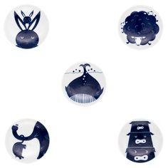 KIHARA/KOMON KIDS 豆皿 5枚セット(専用箱入り) - ATAU GENERAL STORE|アタウ ジェネラルストア|インテリア・雑貨のセレクトショップ