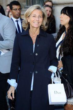 Claire Chazal - Christian Dior Show in Paris