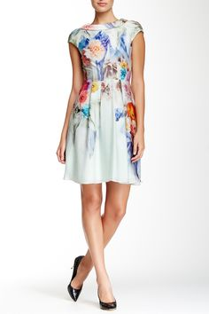 Fieona Sugar Sweet Floral Print Dress by Ted Baker London on @nordstrom_rack