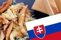 Slowakische Sauerkrautnocken (Rezept) Sauerkraut, Vegan, Recipes, Potato Mashers, Mediterranean Style Kitchen Designs, Play Dough, Health And Fitness, Meat, Homemade