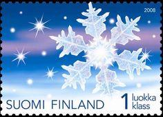Joulupostimerkki 2008