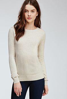 Classic Crew Neck Sweater | Forever 21 - 2000101158