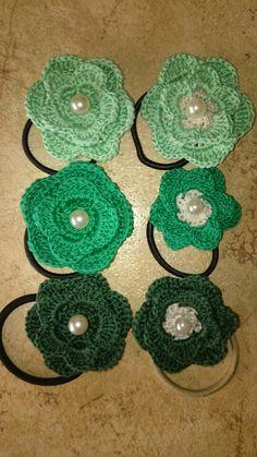 Elastici capelli crochet