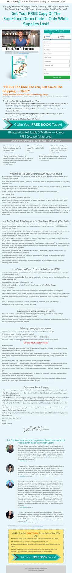 Screenshot: Superfood Detox Code Jerusalem, Superfood, Detox, Blessed, Coding, Peace, Sobriety, Programming, World