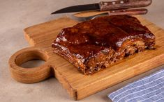 Sous Vide, Ketchup, Ribs, Carne, Banana Bread, Desserts, Food, Barbecue Sauce, Pudding Recipe
