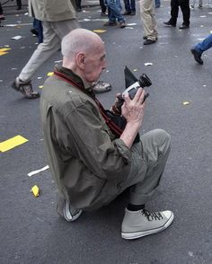 Chris Marker: Doing what he has always done.