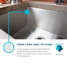Elkay Crosstown EFU352010L Offset 40/60 Double Bowl Undermount Stainless Steel Kitchen Sink >>> Look into this terrific product. (This is an affiliate link). Undermount Stainless Steel Sink, Stainless Steel Kitchen, Kitchen Fixtures, Kitchen Sink, Kitchen Living, Living Room, Cuba, Elkay Sinks, Steel Gauge