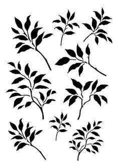 5.8/8.3 ramas hojas de diseño 2. A5