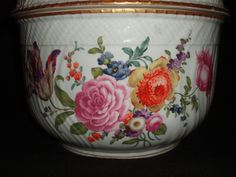 Very Rare Ludwigsburg Porcelain Lidded Tureen | From a unique collection of antique and modern tureens at https://www.1stdibs.com/furniture/dining-entertaining/tureens/