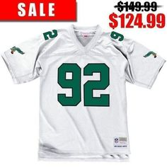 ad8db925061 This vintage Reggie White Philadelphia Eagles throwback replica jersey from  Mitchell and Ness is perfect for