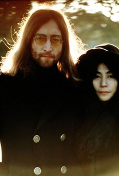 """John & Yoko Q.:""""Do you have a picture of 'when I'm sixty-four?'"""" John: """"No, no. I hope we're a nice old couple living off the coast of Ireland or something like that, looking at our scrapbook of madness."""""""