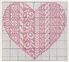 Thrilling Designing Your Own Cross Stitch Embroidery Patterns Ideas. Exhilarating Designing Your Own Cross Stitch Embroidery Patterns Ideas. Embroidery Hearts, Blackwork Embroidery, Cross Stitch Embroidery, Cross Stitch Heart, Counted Cross Stitch Kits, Crochet Cross, Filet Crochet, Cross Stitch Designs, Cross Stitch Patterns