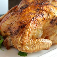 """Spicy Rapid Roast Chicken 