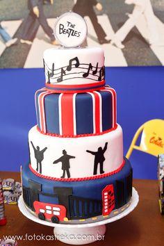 Are you looking for wedding tips? Bolo Dos Beatles, Beatles Cake, Beatles Birthday, Beatles Party, The Beatles, Festa Yellow Submarine, 70th Birthday Parties, Birthday Ideas, Birthday Stuff