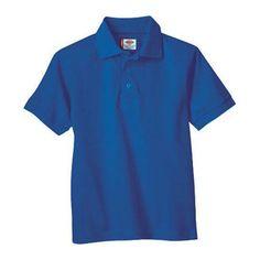 f6023aeea Men s Dickies Short Sleeve Pique Polo Royal Blue (US Men s 2XL (Neck 18-