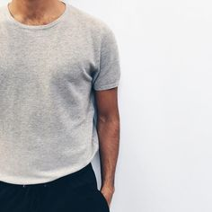"""tumblinginn: """"NEW! MKI SILK WAFFLE TEE 