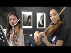 ▶*Just Gorgeous*  Canon in D violin duet - Tiffany - YouTube-Must have for our wedding!!!