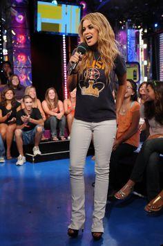 Carmen Electra - MTV TRL Presents Vin Diesel, Carmen Electra and Kim Kardashian