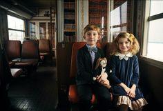 """En train"" fashion story in MilK 38. Photos: Elisabeth Toll. Style: Mélanie HŒpffner. Photos still life: Claire Israël."