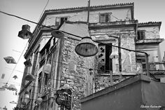 Old houses in Athens